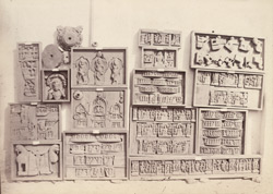 Miscellaneous Buddhist sculptures from Rhode Tope, Sanghao, Peshawar District 10031139